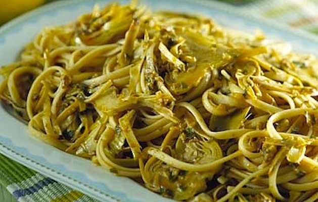 Linguine carciofi e noci ricette in 30 minuti for Carciofi ricette