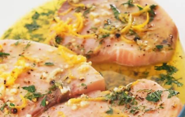 Pesce spada al limone ricette in 30 minuti for Ricette veloci pesce