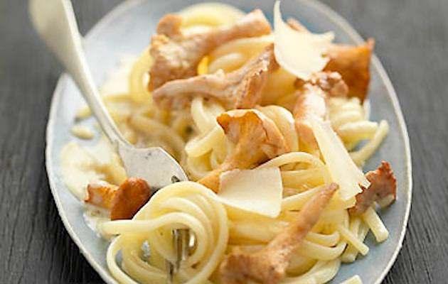 Pasta con finferli ricette in 30 minuti for Marchi di pasta da non mangiare