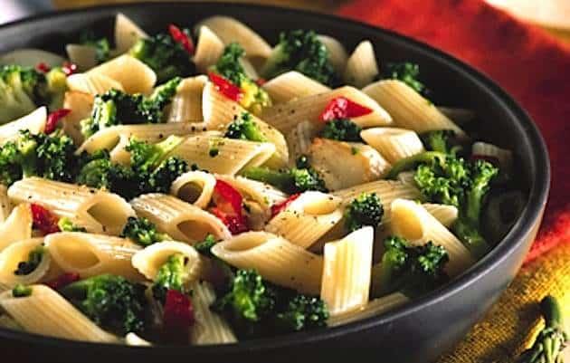 pasta broccoletti e peperoncino