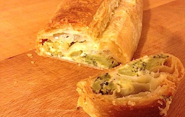 Strudel salato broccoli