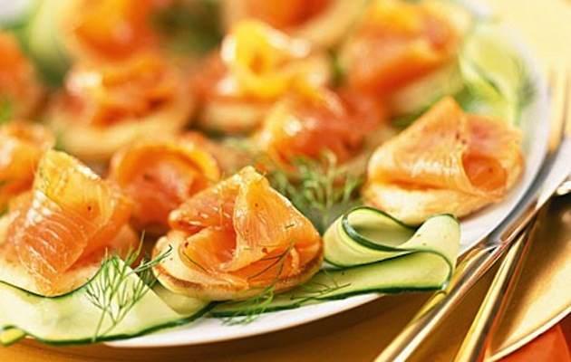 carpaccio zucchine salmone