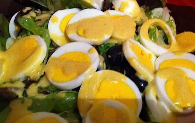 insalata uova senape