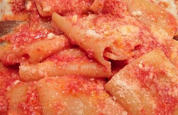 pasta ricotta pomodoro